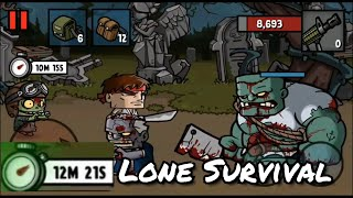 Surpassing 12 minutes on the LONE SURVIVAL on Zombie Age 3 Premium: Rules of Survival! screenshot 4