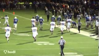 Jamal Johnson Stonehill College Senior Highlights (RB #30 Class of 2014)
