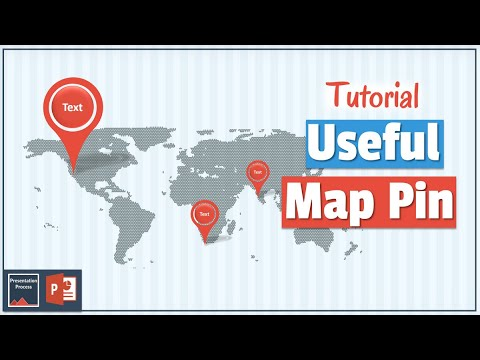 Map Pin in PowerPoint  PowerPoint Diagram Tutorial Series - YouTube