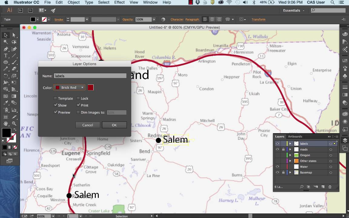 How to Draw a Simple State Map in Adobe Illustrator CC Making Maps In Illustrator on buenos aires map, print map, word map, internet map, world map,