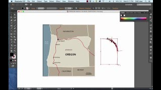 How to Draw a Simple State Map in Adobe Illustrator CC
