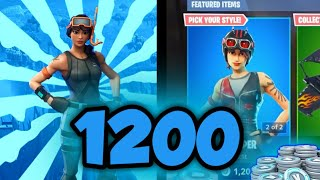 TOP3 Skins for 1200 V-dolców/Fortnite Battle Royale