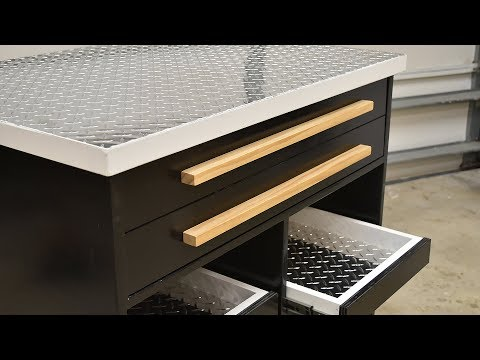 How to make a Shop CART for Tool Storage