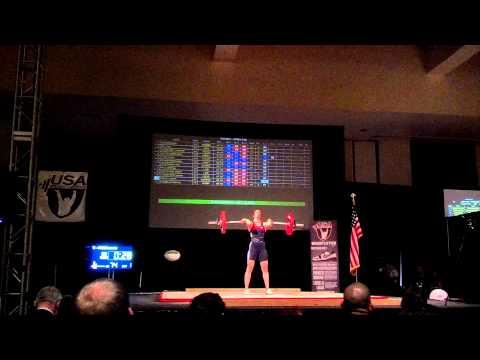 Lauren Fiske 74kg Cl&J FA @ 2012 American Open, Palm Springs, Ca. 11-30-12