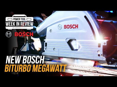 [TOOL NEWS] NEW Bosch 2020 MEGAWATT tools at World of Concrete