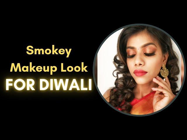 Smokey Makeup Look For Diwali | Nupur Gupta