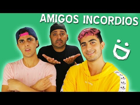AMIGOS INCORDIOS - Alex Diaz ft. Jose Villa & Guillermo Villa