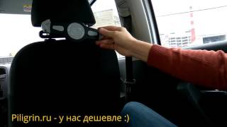 Автомобильный держатель на подголовник для планшета 7- 10 дюймов. Обзор модели S005