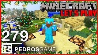 VÁNOČNÍ SPECIÁL   Minecraft Let's Play #279   Pedro