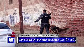 Continúa la búsqueda de Gastón León