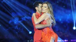 """Florencia se lució con un baile muy sensual y con """"una buena franela"""""""