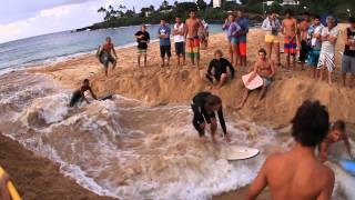 Quiksilver Reports -- Hawaii 2011/12 -- Waimea River