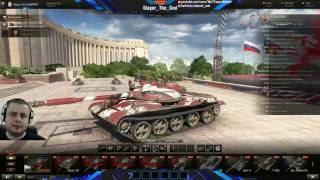 Танкобол со зрителями в World of Tanks 17.06.2016