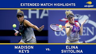 Madison Keys vs. Elina Svitolina | 2017 US Open, R4