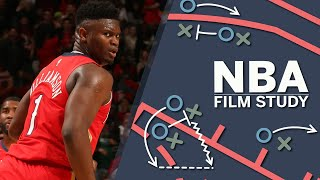 Zion WIlliamson's athletic ability showed in Pelicans debut vs. Spurs - Tim Legler | SC with SVP