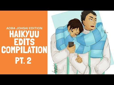 Haikyuu Edits Compilation (AJ EDTN) PT. 2   Angelica Salvador