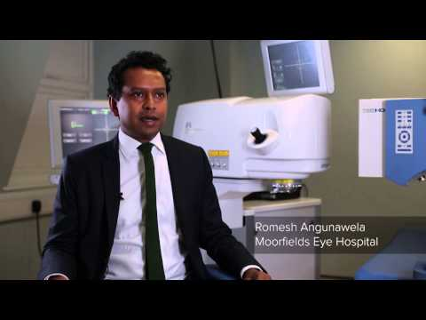 Working at Moorfields Eye Hospital