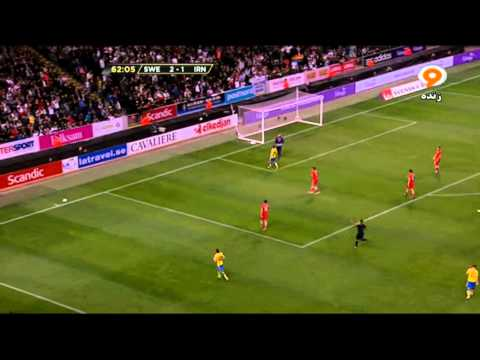 شبکه ورزش   پخش زنده 2nd Half  l Sweden  3-1 Iran  Friendly Match 31/3/2015