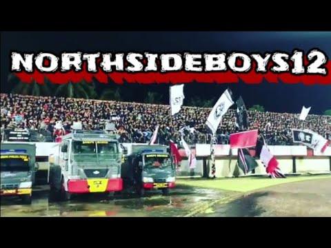Aksi chant northsideboys12 saat laga bali united vs