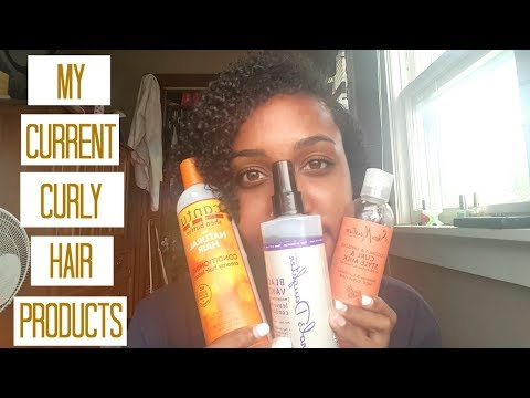 My Current Curly Hair Products