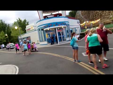 Dollywood Vlog Day 2 - Lightning Rod Reopens!