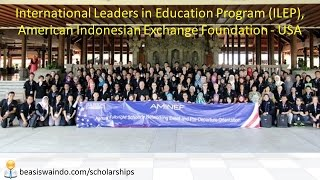 International Leaders In Education Program (ILEP) AMINEF - USA #150415