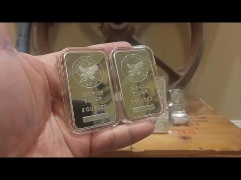 Week 4: Two 5 Oz Sunshine Minting/Mining Bars
