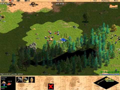 [AOE - Đế chế] ChimSeDiNang vs Khủng long [Solo - Random] Trận 1 - 4/3/2012