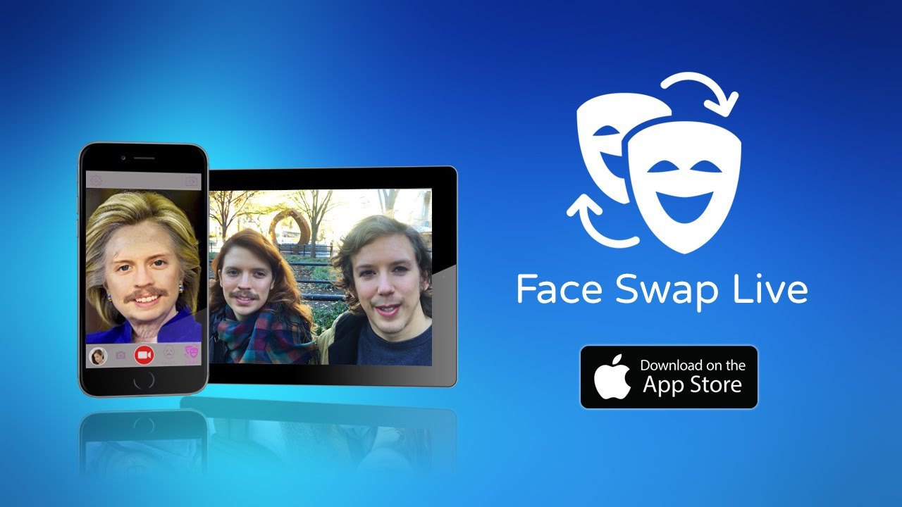 face swap live ios app to switch faces with friends photos in