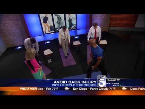 Dr. Levi Harrison on KTLA Morning News