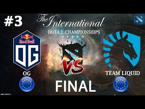 ЧТО ЖЕ ТВОРЯТ ЭТИ ДЬЯВОЛЫ ДОТЫ!   OG vs Liquid #3 (BO5) FINAL The International 2019