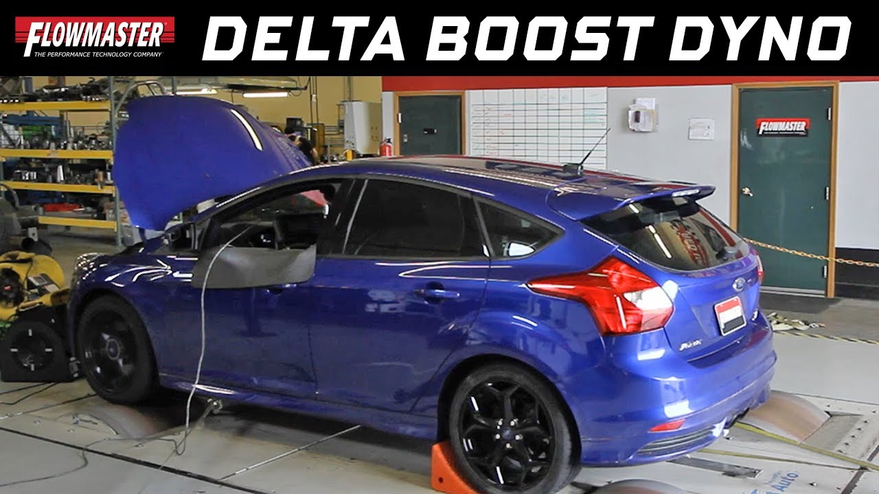 Flowmaster Delta Boost Performance Tuners 2013 Ford Focus St W 2012 Headers 20l Ecoboost Dyno Test