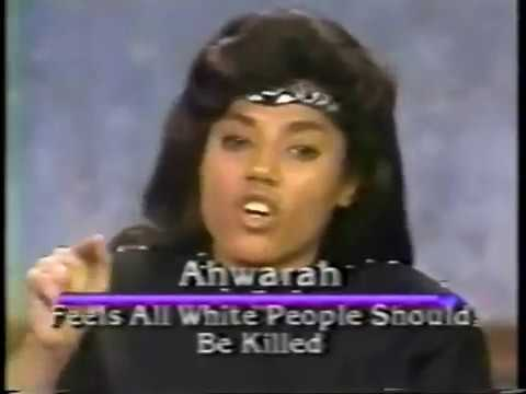 Hebrew Israelites on Montel Williams show in 1993 PT1 (Throw back)