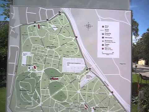 solna kyrkogård karta