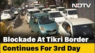 Farmers' March: Road Blocks Leave Delhi-Haryana Commuters Frustrated