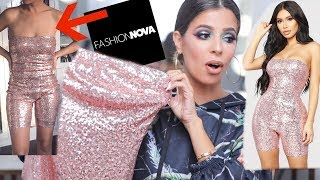 I SPENT $500 ON FASHION NOVA CLOTHING... UMM