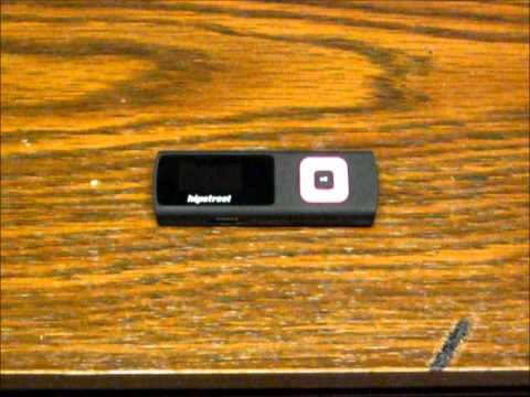 MP3 player gets what's coming to it!