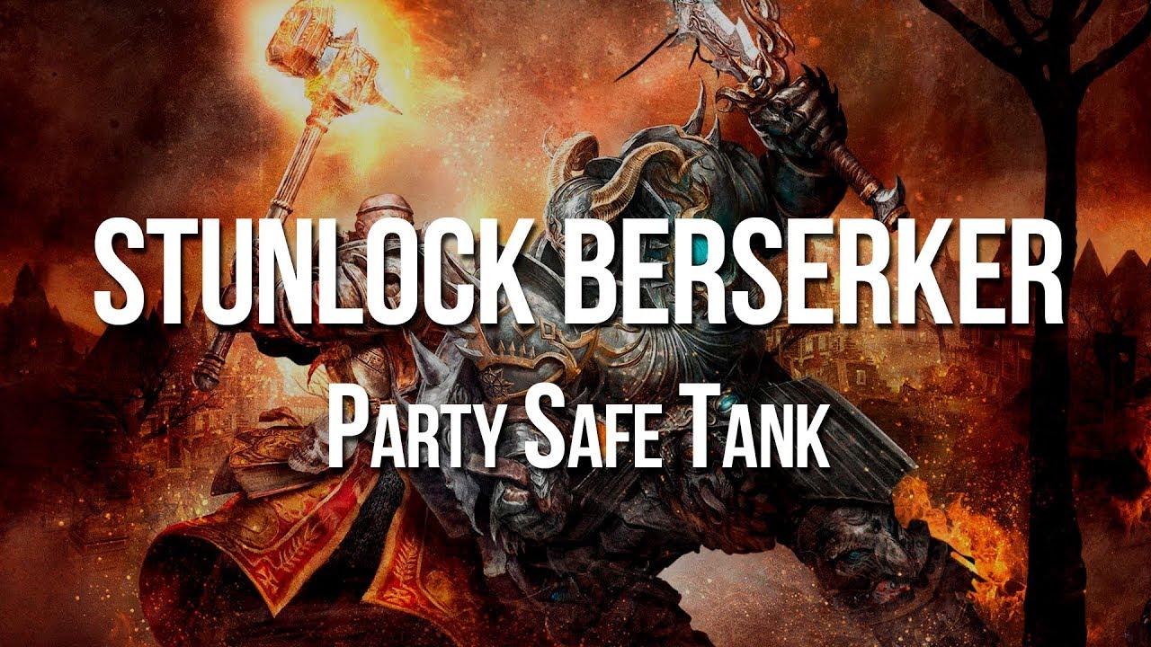 Sunder Berserker Build