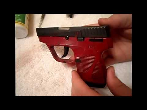 Taurus PT738 380 tcp clean & review