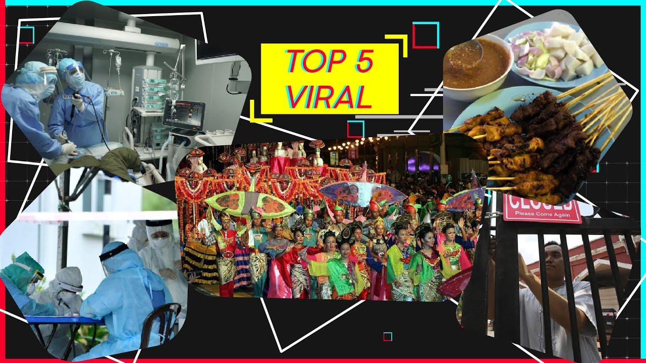 Top 5 Viral: Sate terbiar kerana Covid-19, rakyat Malaysia 'sekolahkan' personaliti TV Taiwan.