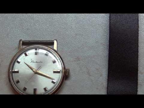 Золотые часы Ракета,СССР (обзор)