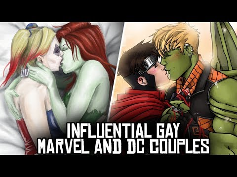 10 GREATEST Marvel and DC LGBT Couples!