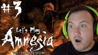 Amnesia: The Dark Descent Gameplay Walkthrough |  Part 3 | IS SOMEBODY THERE!?