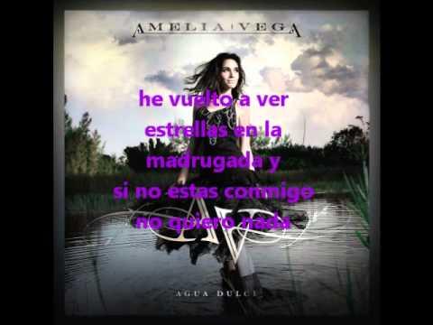 Amelia Vega - Bachata Agua dulce con letra