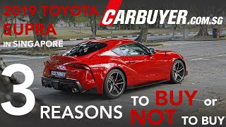 3 Reasons To Buy (And Not To Buy ) The Toyota Supra in Singapore - CarBuyer.com.sg