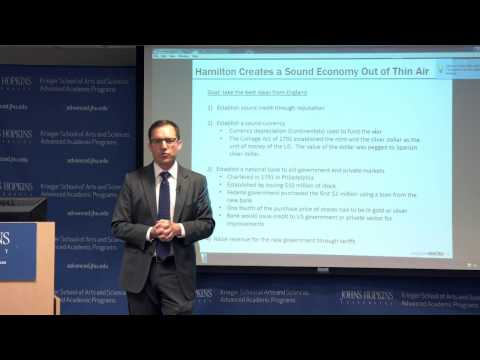 Marc Sumerlin United States Economic History, 1790 – 1930