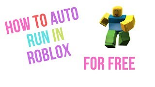 HOW TO AUTO RUN IN ROBLOX