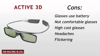 Active 3D vs Passive 3D