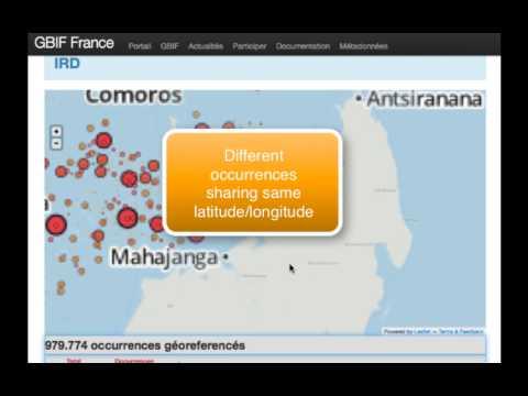 GBIF France new dataportal