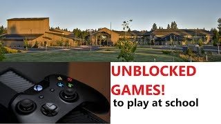 5 Unblocked Games You Can Play At School!